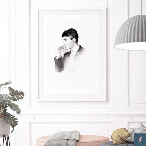 Cillian Murphy | Peaky Blinders by ANDLIZZY | Unframed Print
