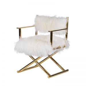Ciprian Sheepskin Leisure Chair