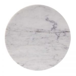 Circle Trivet in Carrara Marble | Behr & Co
