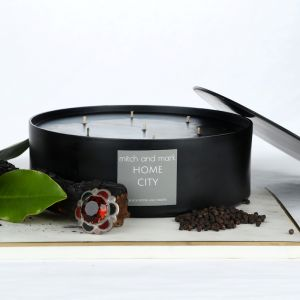 CITY Essential Oil Candle | Limited Edition Bowl | Personally signed by Mitch and Mark