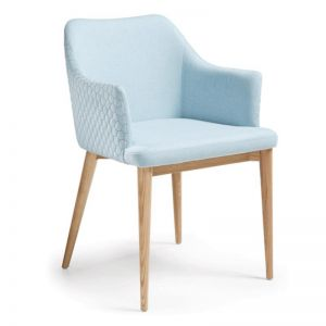 CL21 Quilted Dining Chair | Light Blue | CLU Living