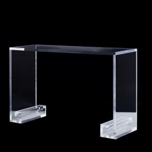 Cleopatra Lucite Acrylic Console Desk Table | Customisable
