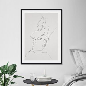 Close Noir by Quibe | Unframed Art Print