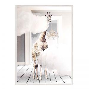 Cloud Chandelier | Framed Art Print