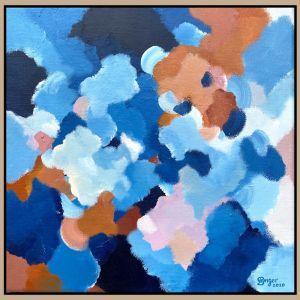 Clouds At Dusk 16 | Original artwork by Lauren Danger