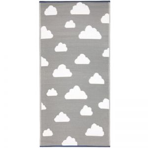 Clouds Grey | Indoor Outdoor Kids Rug | Little Portico / Fab Habitat