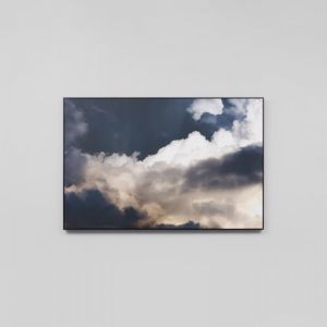 Clouds Midnight | Framed Canvas Print
