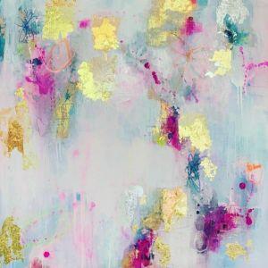 Cloudy Love   Original Artwork on Canvas. SOLD. Please Inquire.