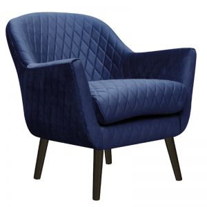 Club Chair | Velvet | French Navy