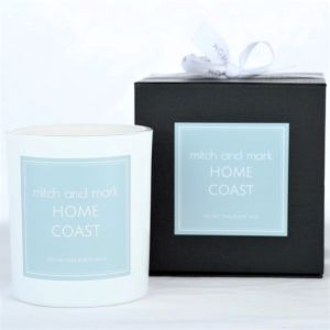 COAST Essential Oil Candle | Limited Edition | Personally signed by Mitch and Mark
