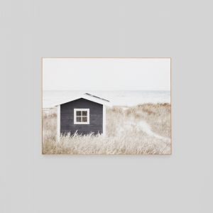 Coastal Cottage | Framed Canvas