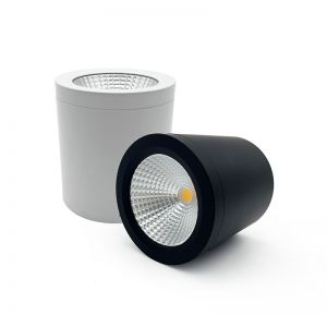COB LED Cylinder Surface Mounted Downlight   10W 4000K   PRE-ORDER