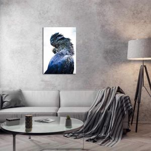 Cockatoo Blue | Canvas Print by United Interiors