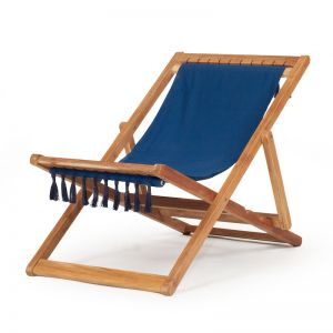 Coco Sling Chair | Navy