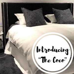 Coco Upholstered Bedhead | Various Sizes and Colours | Custom Made by Bedsahead
