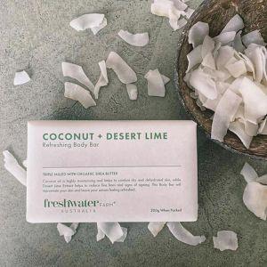 Coconut + Desert Lime Refreshing Body Bar   200g