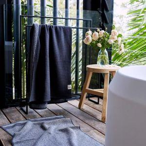 Cocoon Cotton Bath Sheet    Charcoal