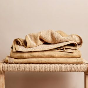 Cocoon Cotton Bath Towel | Nutmeg