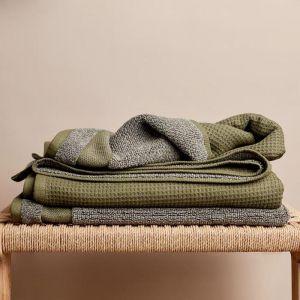 Cocoon Cotton Towel Bundle | Olive