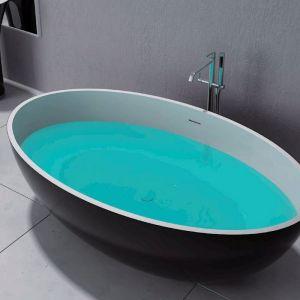 CocoTerrazzo Stone Bath 1600 | Black