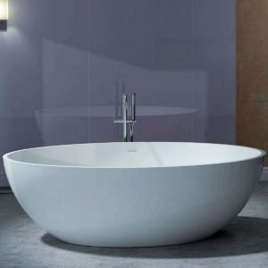 CocoTerrazzo Stone Bath 1600 | Onyx