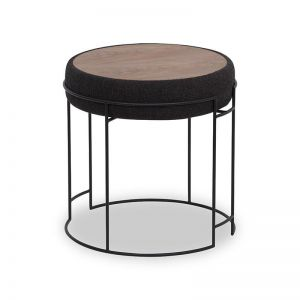 Cody Side Table/Stool | Charcoal