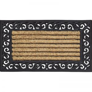 Coir Rubber Scroll Door Mat | Schots
