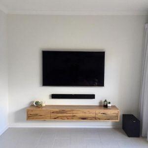 Collie | Messmate Floating TV Unit | by Ingrain Designs