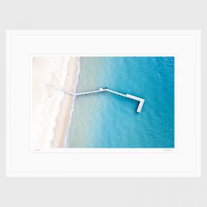 Collings Bay | Limited Edition | Fine Art Framed Print I by Brian Randall
