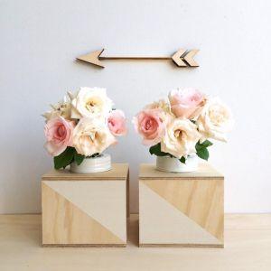 Colour Block Flower Box Set