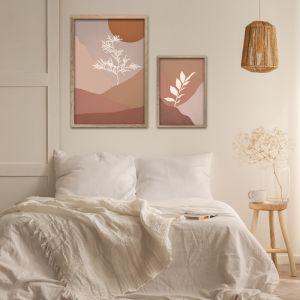 Colour Field Botanicals 1 | Set of 2 Art Prints | Unframed