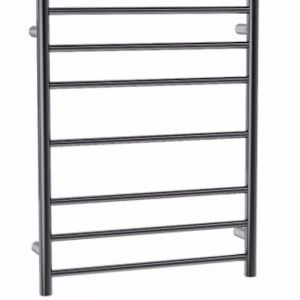 Coloured Heated Towel Ladder | Gun Metal