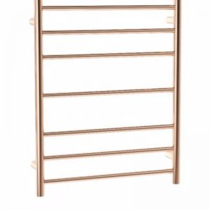 Coloured Heated Towel Ladder | Rose Gold