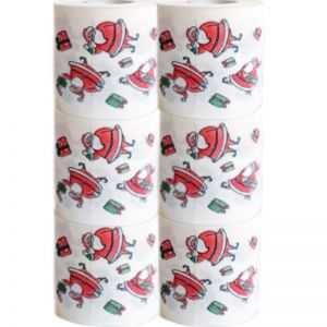 Coloured Toilet Paper | Christmas Toilet Paper | Xmas Santa