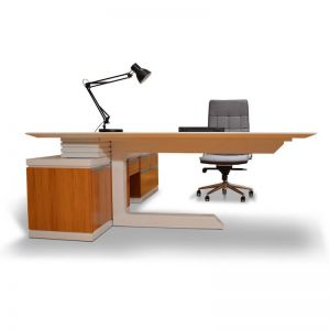 Colton Modern Executive Office Desk | Modern Furniture