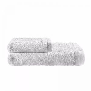 Como Cotton Towels by KAS Australia | White