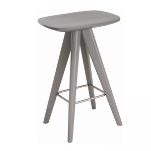 Compass Bench Barstool | Grey | CLU Living