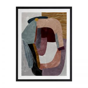 Concentric II | Framed Art Print
