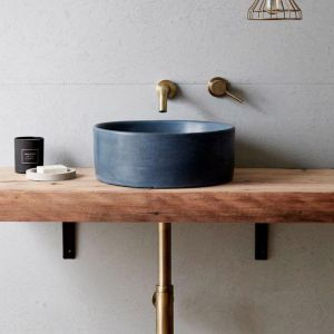 Concrete Basin | Round | Black