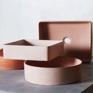 Concrete Basin | Round | Mango