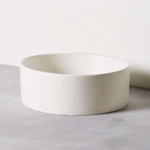 Concrete Basin | Round | Snow White