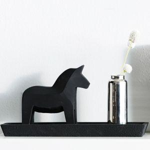 Concrete Dala Horse | Black or Natural | By Zakkia