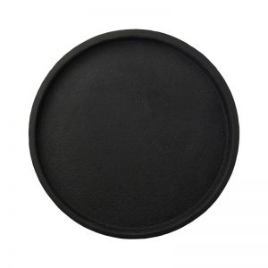 Concrete Round Tray | Black, Grey or White | By Zakkia