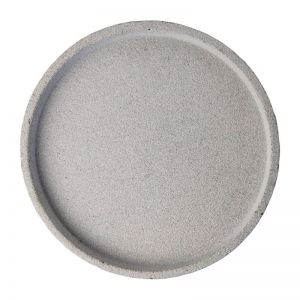 Concrete Round Tray | Large