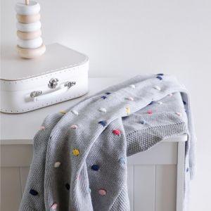 Confetti Blanket | Grey