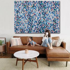 Confetti Rain | 2A0 Limited Edition | Unstretched Canvas Print