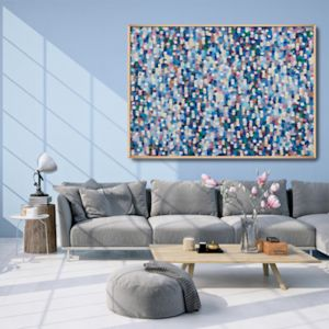 Confetti Rain A0 Limited Edition Print Unframed