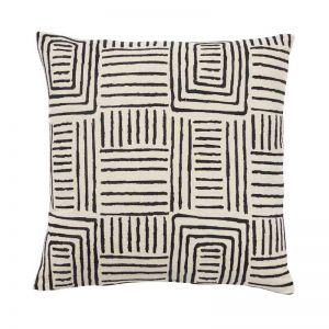 Congo Embroidered Cushion | by Weave Home