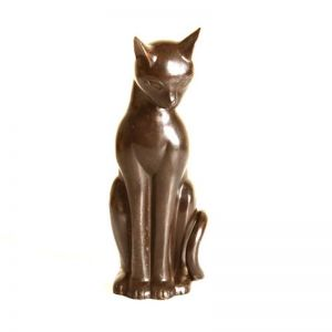 Contemporary Bronze Cat
