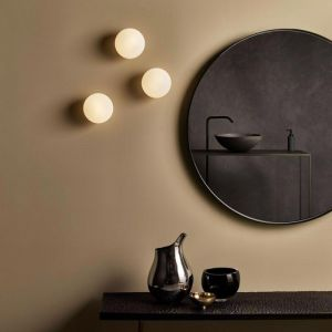 Contemporary Luminous Orb Wall Light